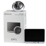 3 в 1, дверной глазок, звонок и домофон Ezviz CS-DP1 (A0-4A1WPFBSR)