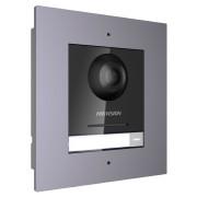 Модульная IP вызывная  панель DS-KD8003-IME1/Flush  (врезной монтаж)