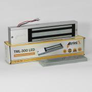 Электромагнитный замок с планкой TML-300 LED