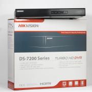 16-канальный Turbo HD видеорегистратор DS-7216HQHI-F2/N (16 аудио)
