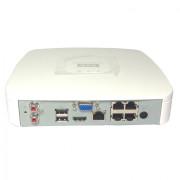 4-канальный PoE Smart 1U 4K сетевой видеорегистратор DH-NVR4104-P-4KS2