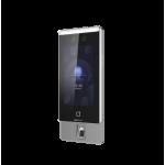 Терминал распознавания лиц со сканером отпечатков пальцев DS-K1T671MF