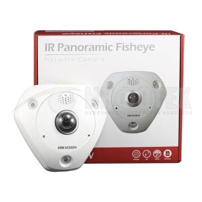 6 Мп Fisheye IP камера серии DeepinView DS-2CD6365G0-IVS
